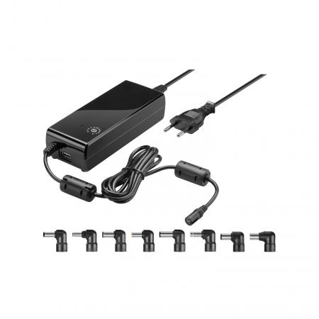 Laptop adapter - Goobay - 6000 mA - Zwart